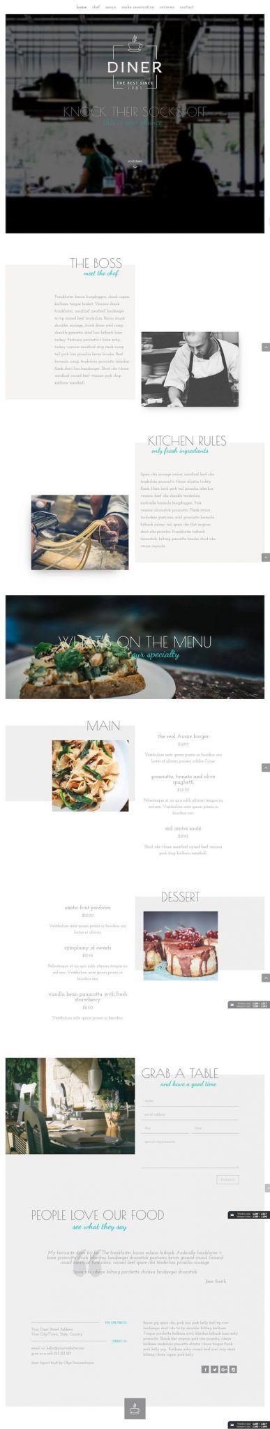 Crear una Página Web para un restaurante con Divi