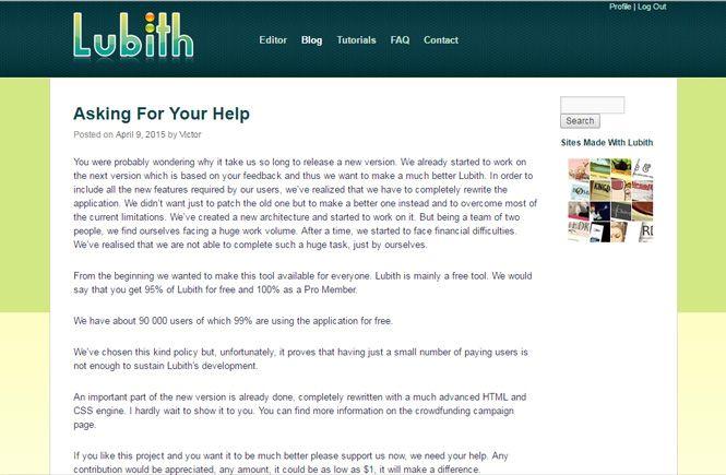 Comenta tus dudas en el Blog de Lubith