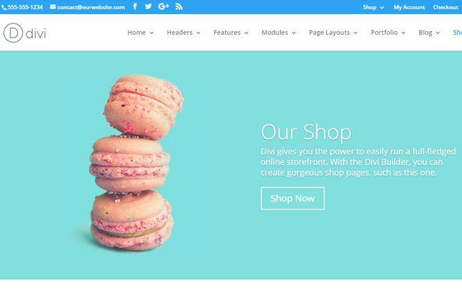 Cómo configurar el modulo de tienda en Divi usando Woocommerce