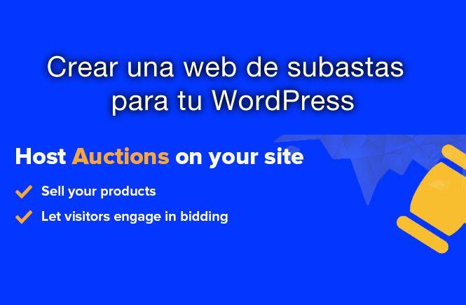 Web de subastas