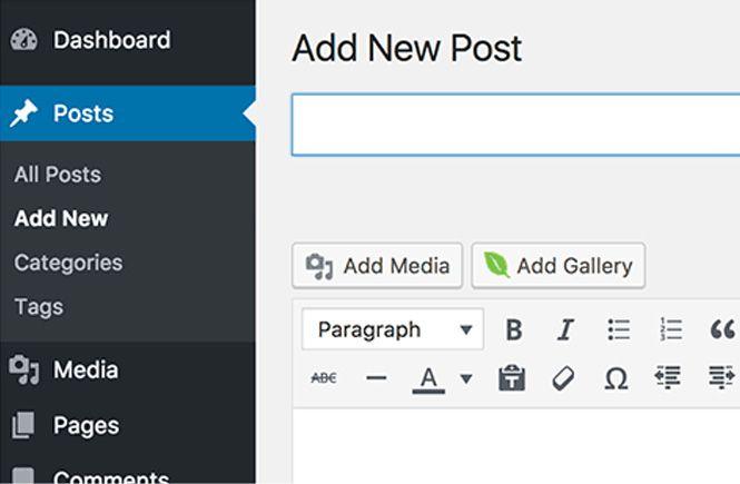 Añadir la galería filtrable