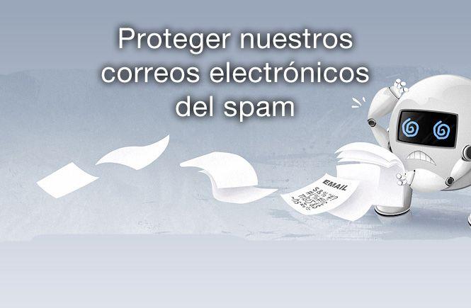 Proteger nuestros correos electronicos del spam