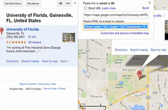 Google Maps en tu WordPress