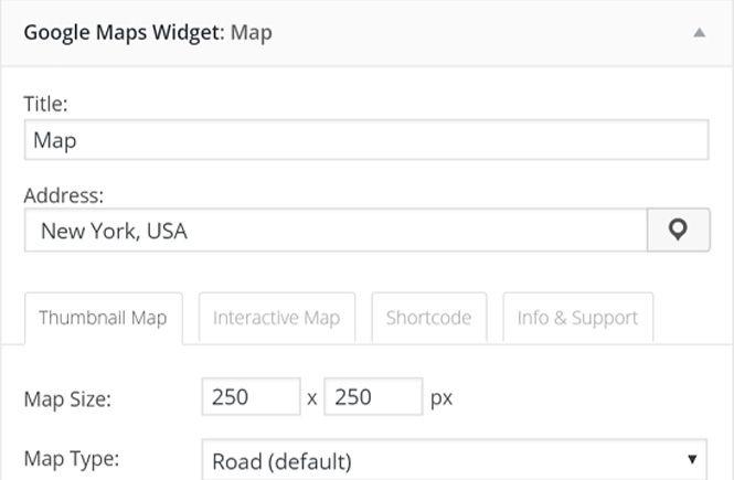 Agregar Google Maps en tu WordPress con Google Maps Widget