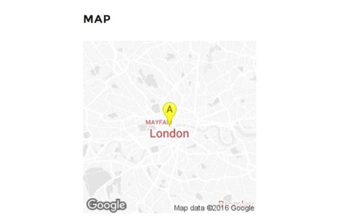 Lightbox con Google Maps Widget