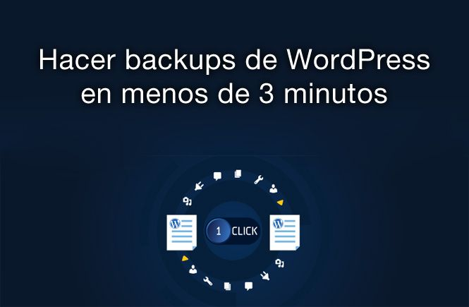 Hacer backups de WordPress
