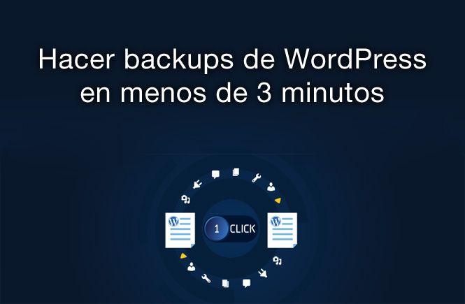 Hacer backups de WordPress