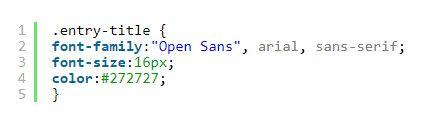 como mostrar codigo corto en nuestro wordpress de css