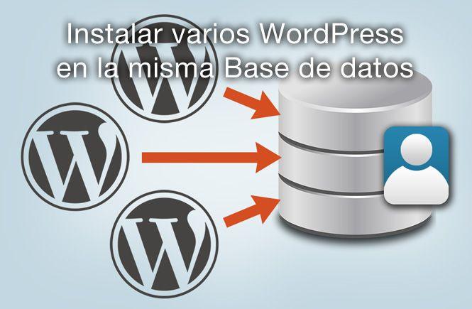 Cómo instalar varios wordpress en la misma base de datos