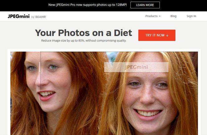 Optimiza tus imágenes con JPEGmini