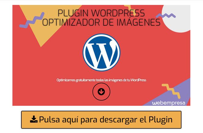 Optimizador, optimizar gratuitamente todas las imágenes de tu WordPress