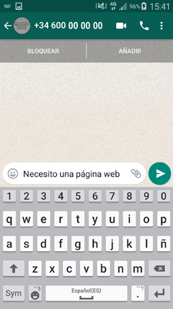 Conectar WordPress y WhatsApp con html y css