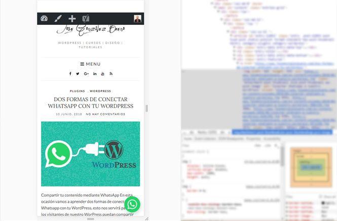 vista previa de como conectar WhatsApp con tu WordPress