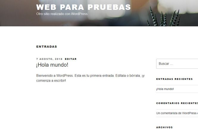 Formato de fecha en WordPress