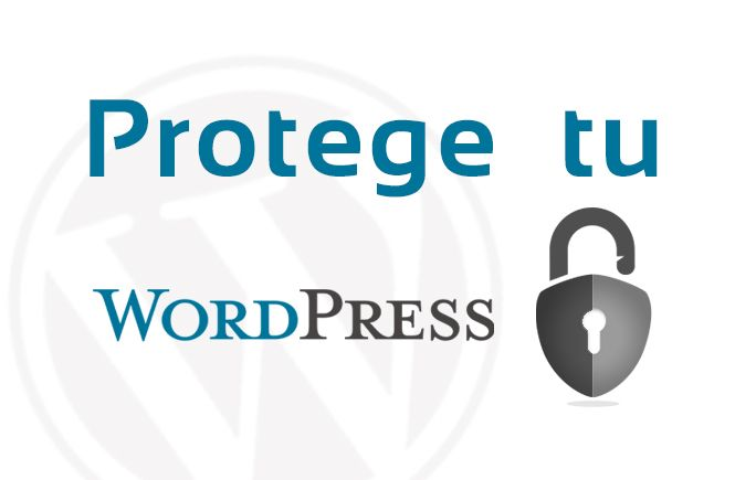 Protege tu WordPress