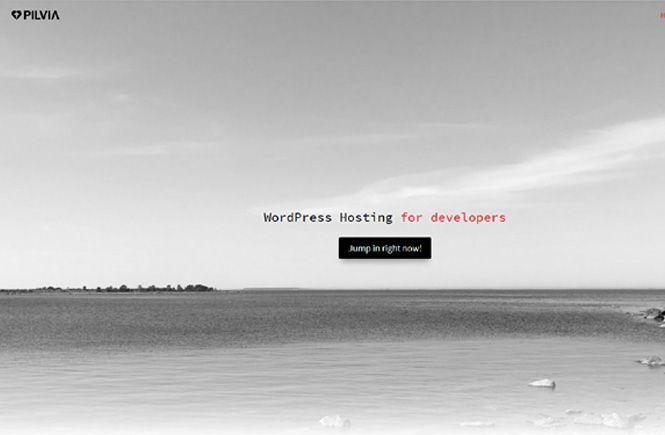 Crear web con Pilvia