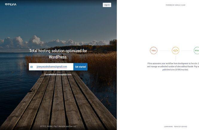 Crear webs para pruebas con WordPress