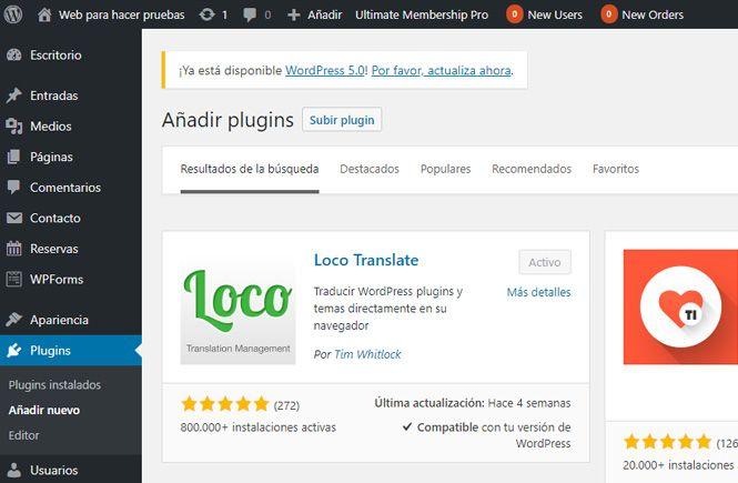 Traducir Temas y Plugins con Loco Translate