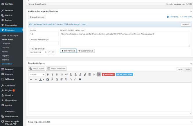 Download Monitor para administrar tus documentos descargables