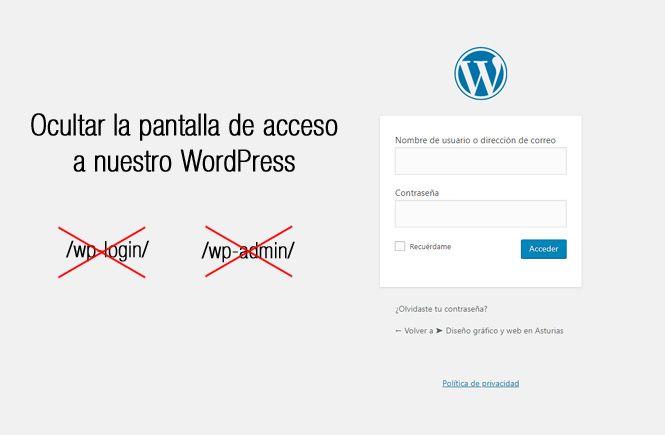 Cambiar la URL de acceso a nuestro WordPress